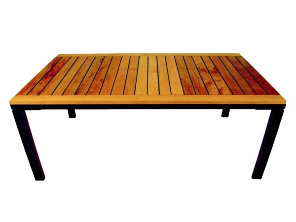 Mesa Antoni com tampo wood