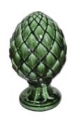 Escultura pinha verde - 16801