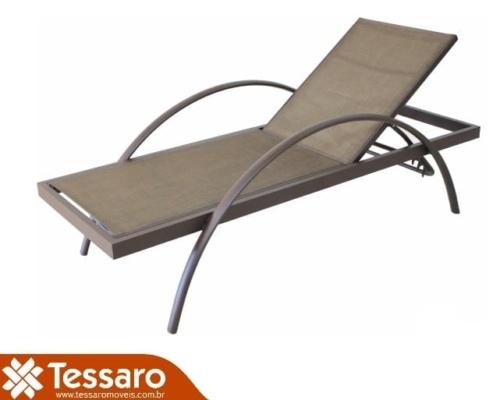 Chaise em fibra sintética pietra