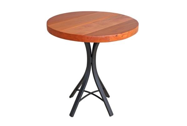 Mesa em madeira de demolição Ferrara redonda