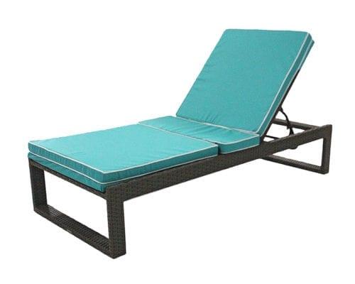 Chaise em fibra sintética Harmonie em u invertido