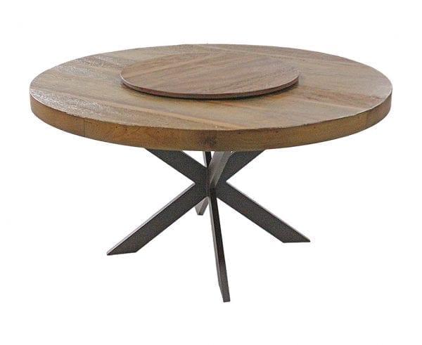 Mesa em madeira e alumínio Novara