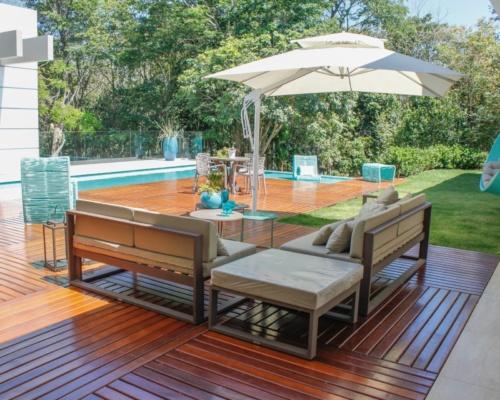 Deck piscina casa cliente