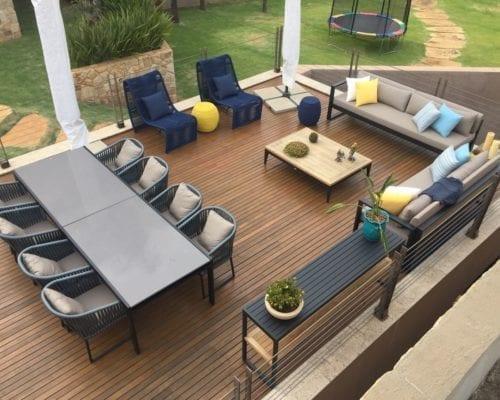 Lounge varanda casa cliente
