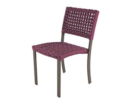 Cadeira em corda nautica Cecilia