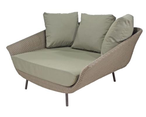 Chaise em fibra sintética Martino