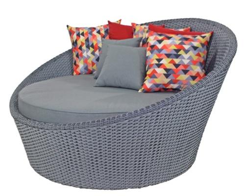 Chaise em fibra sintética Samart