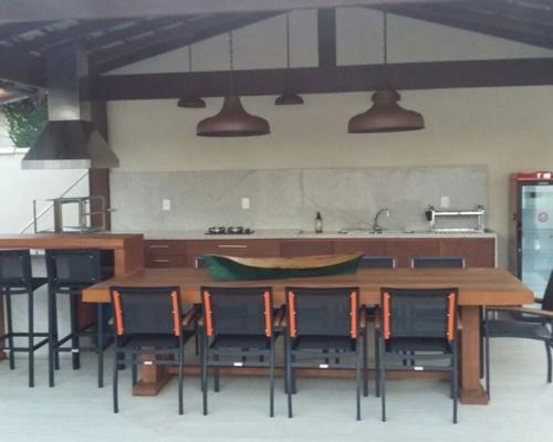 Espaço gourmet - Casa Cliente