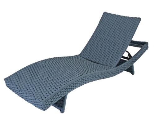 Chaise em corda náutica silueta