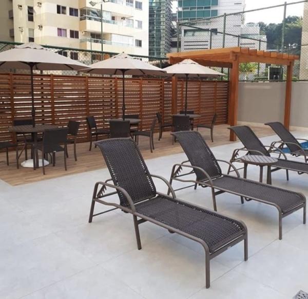 Decoração ambiente - piscina condomínio