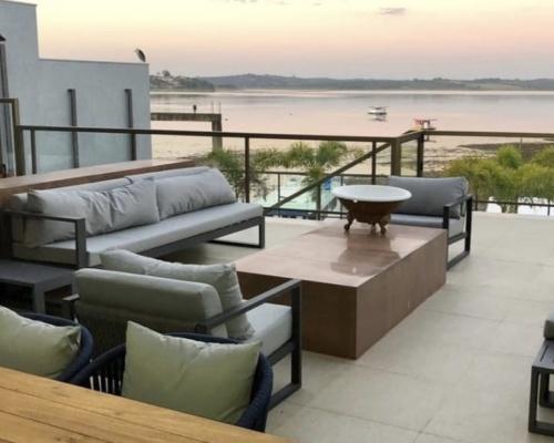 Decoração ambiente - varanda e jardim casa cliente