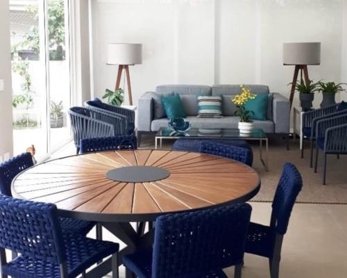 Decoração ambiente - varanda gourmet casa cliente