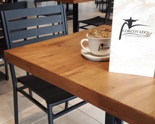 Decoração ambiente - restaurante padaria corcovado cliente