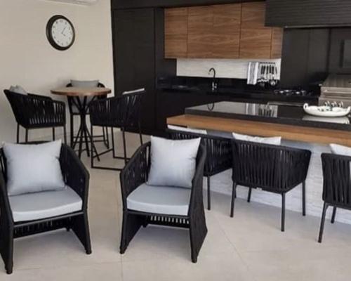 Decoração ambiente - espaço gourmet casa cliente