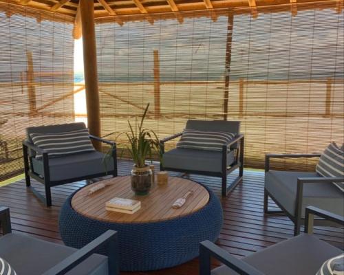Decoração ambiente - varanda casa cliente