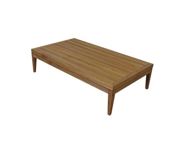 Mesa de centro em madeira freijó bianca