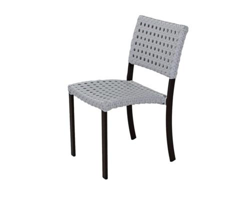 Cadeira em fibra sintética cecília
