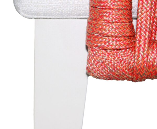 Poltrona em corda náutica e alumínio